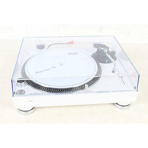 Open Box Pioneer PLX-500 Direct-Drive Professional Turntable White