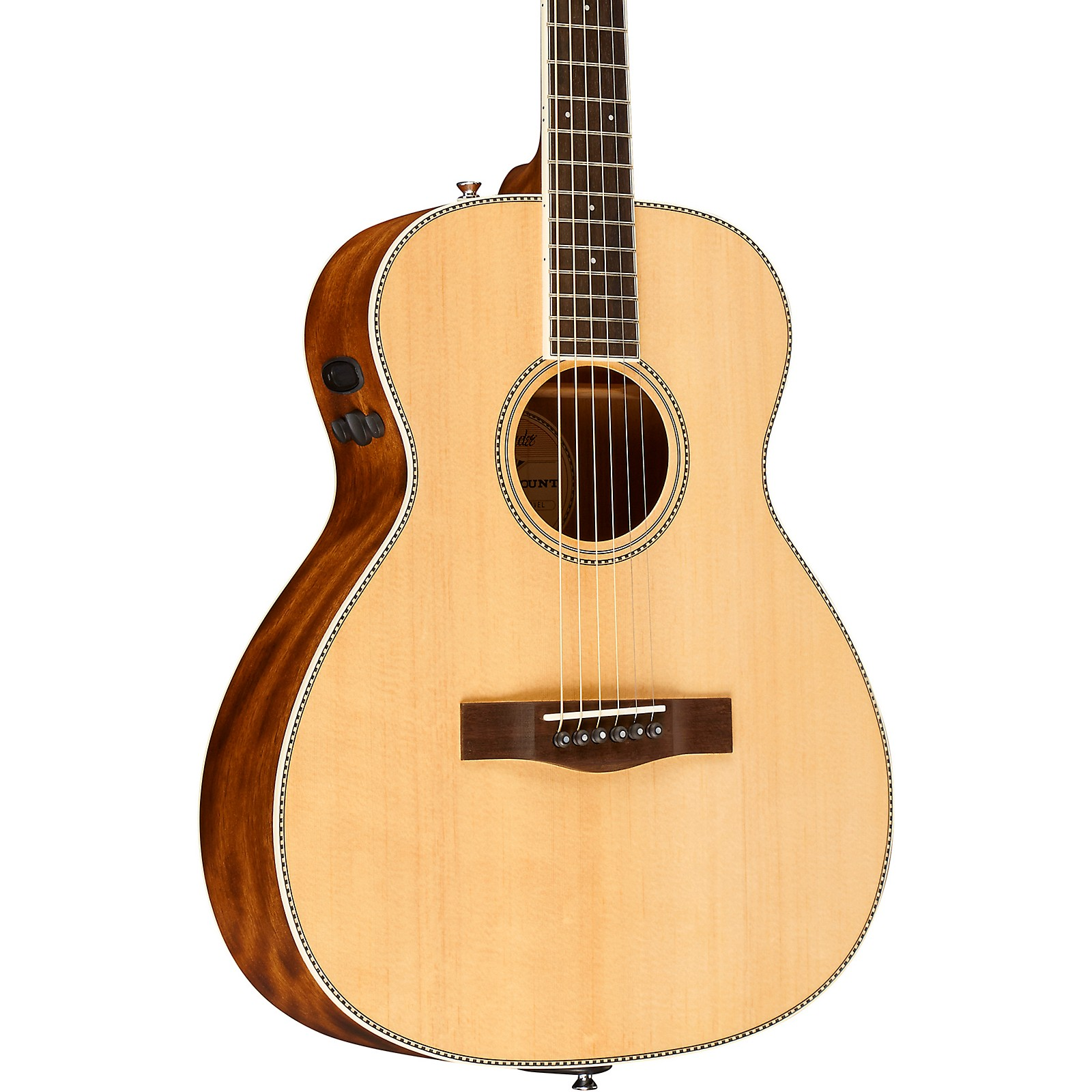Open Box Fender PM-TE Standard Travel Acoustic-Electric Guitar