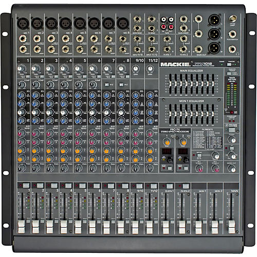 Open Box Mackie PPM1012 12-Channel 1600W Powered Mixer