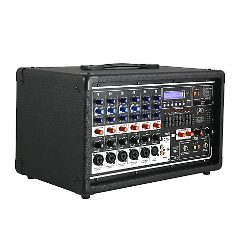 Open Box Peavey PVi 6500 6-Channel 400W Powered PA Head with Bluetooth and FX