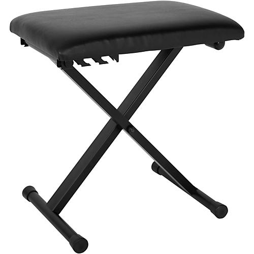 Open Box Musician's Gear Padded Piano Bench