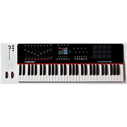Open Box Nektar Panorama P6 61-Key USB MIDI Controller Keyboard