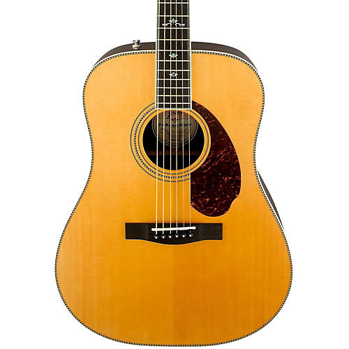 Open Box Fender Paramount Series PM-1 Deluxe Dreadnought Acoustic-Electric Guitar