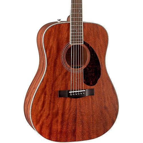 Open Box Fender Paramount Series PM-1 Standard All-Mahogany Dreadnought Acoustic Guitar