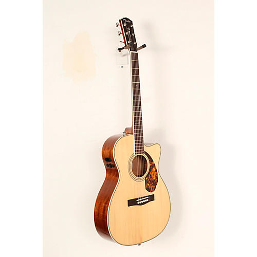 Open Box Fender Paramount Series PM-3 Limited Adirondack Spruce/Mahogany Cutaway Triple-0 Acoustic-Electric Guitar
