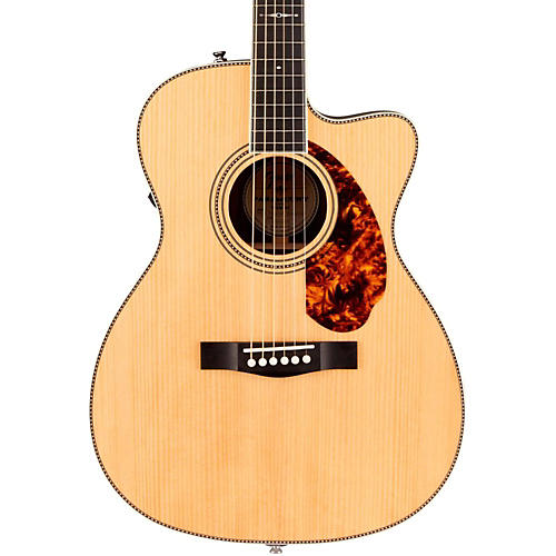 Open Box Fender Paramount Series PM-3 Limited Adirondack Triple-0, Rosewood Acoustic-Electric Guitar