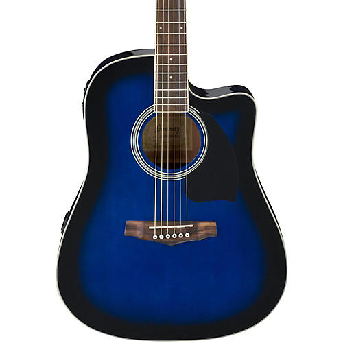 Open Box Ibanez Performance Series PF15 Cutaway Dreadnought Acoustic-Electric Guitar