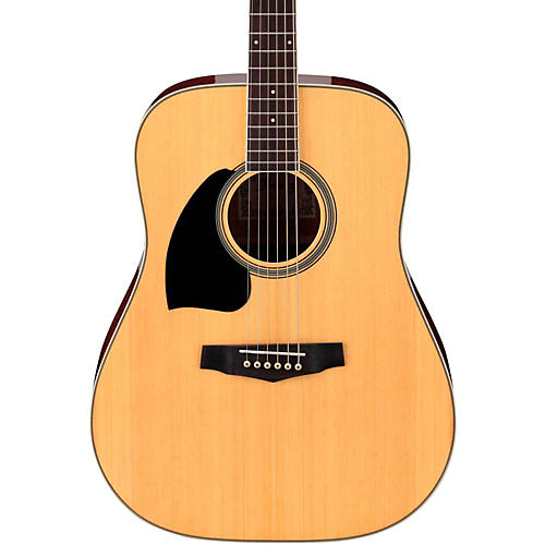 Open Box Ibanez Performance Series PF15 Left Handed Dreadnought Acoustic Guitar