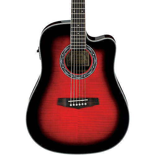 Open Box Ibanez Performance Series PF28ECE Acoustic-Electric Guitar
