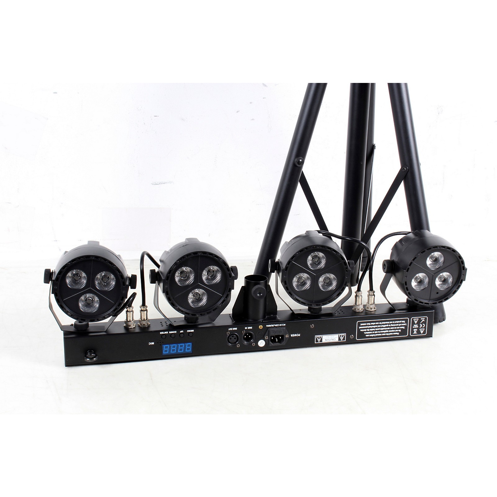 Open Box Stagg Performer Light Set RGBW LED System with Stand