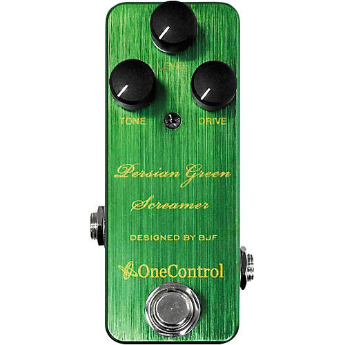 Open Box One Control Persian Green Screamer Overdrive Effects Pedal