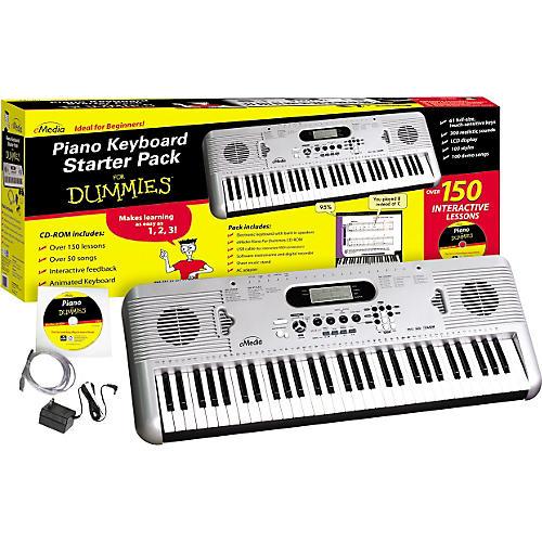 Open Box Emedia Piano for Dummies 61-Key Keyboard Starter Pack