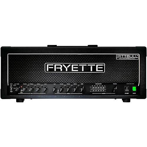 Open Box Fryette Pittbull Hundred/CL G100CL/EQ 100W Tube Guitar Amp Head