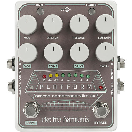 Open Box Electro-Harmonix Platform Stereo Compressor/Limiter Pedal
