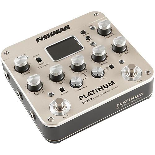 Open Box Fishman Platinum Pro EQ Acoustic Guitar Preamp