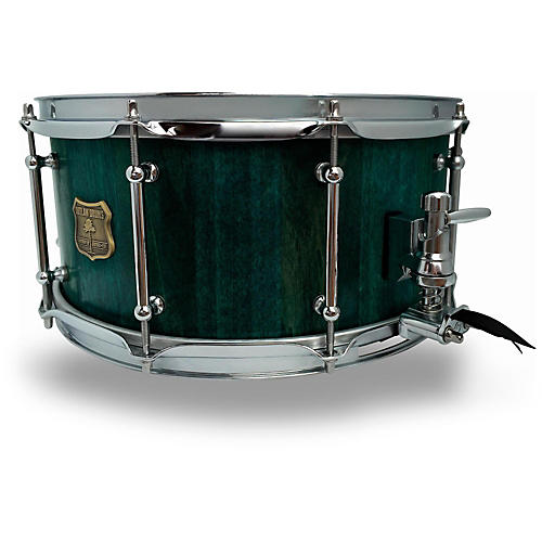 open box outlaw drums poplar stave snare drum with chrome hardware 14 x 6 5 in emerald cove. Black Bedroom Furniture Sets. Home Design Ideas