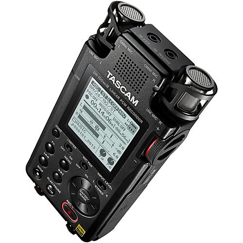 Open Box Tascam Portable 2-Channel Linear PCM Recorder