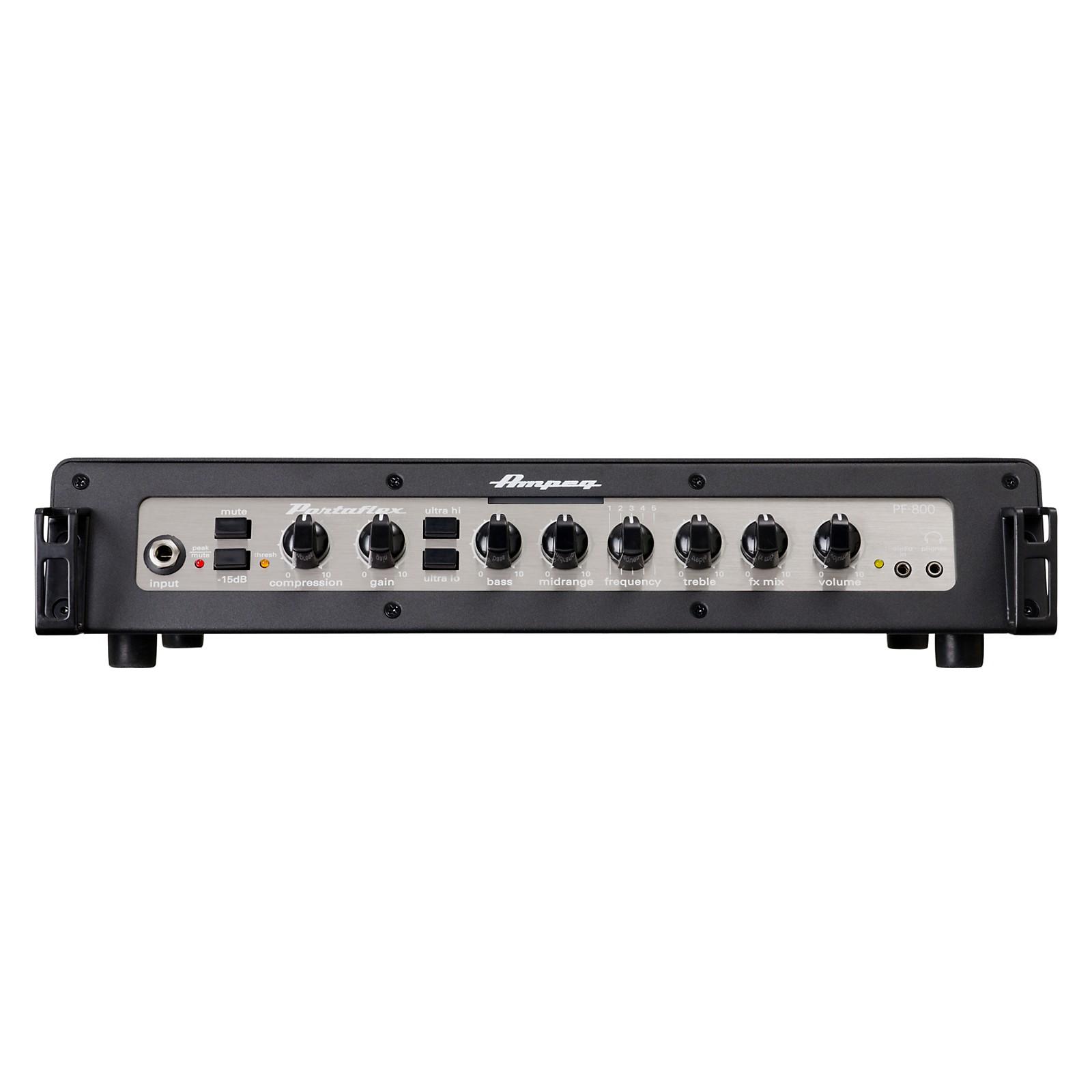 Open Box Ampeg Portaflex PF800 800W Class-D Bass Amp Head