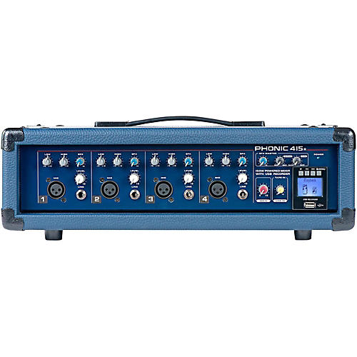 Open Box Phonic Powerpod 415R 150W 4-Channel Powered Mixer with USB Recorder