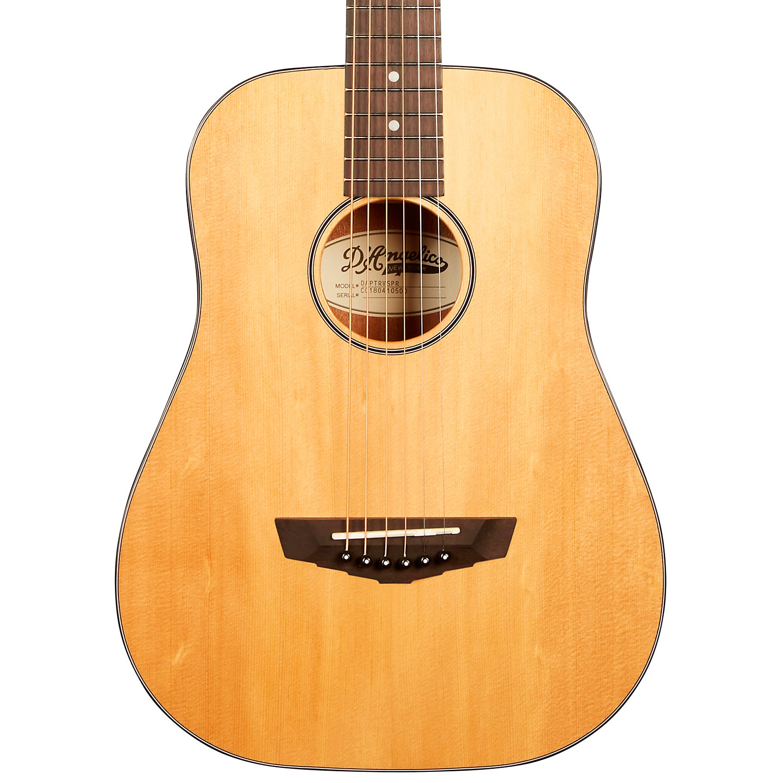 Open Box D'Angelico Premier Series Utica Mini Acoustic Guitar With Spruce Top