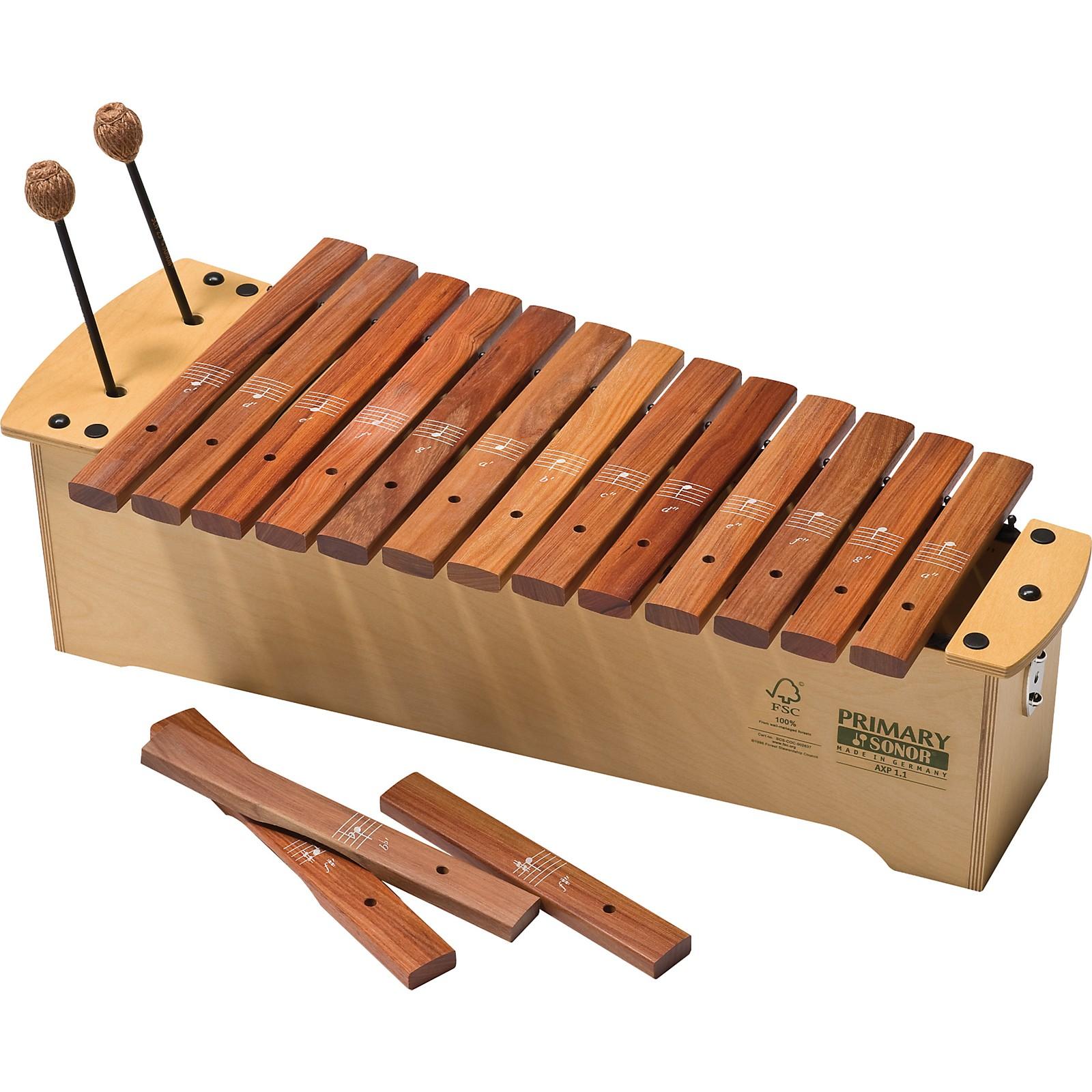 Open Box Sonor Orff Primary Line FSC Alto Xylophone