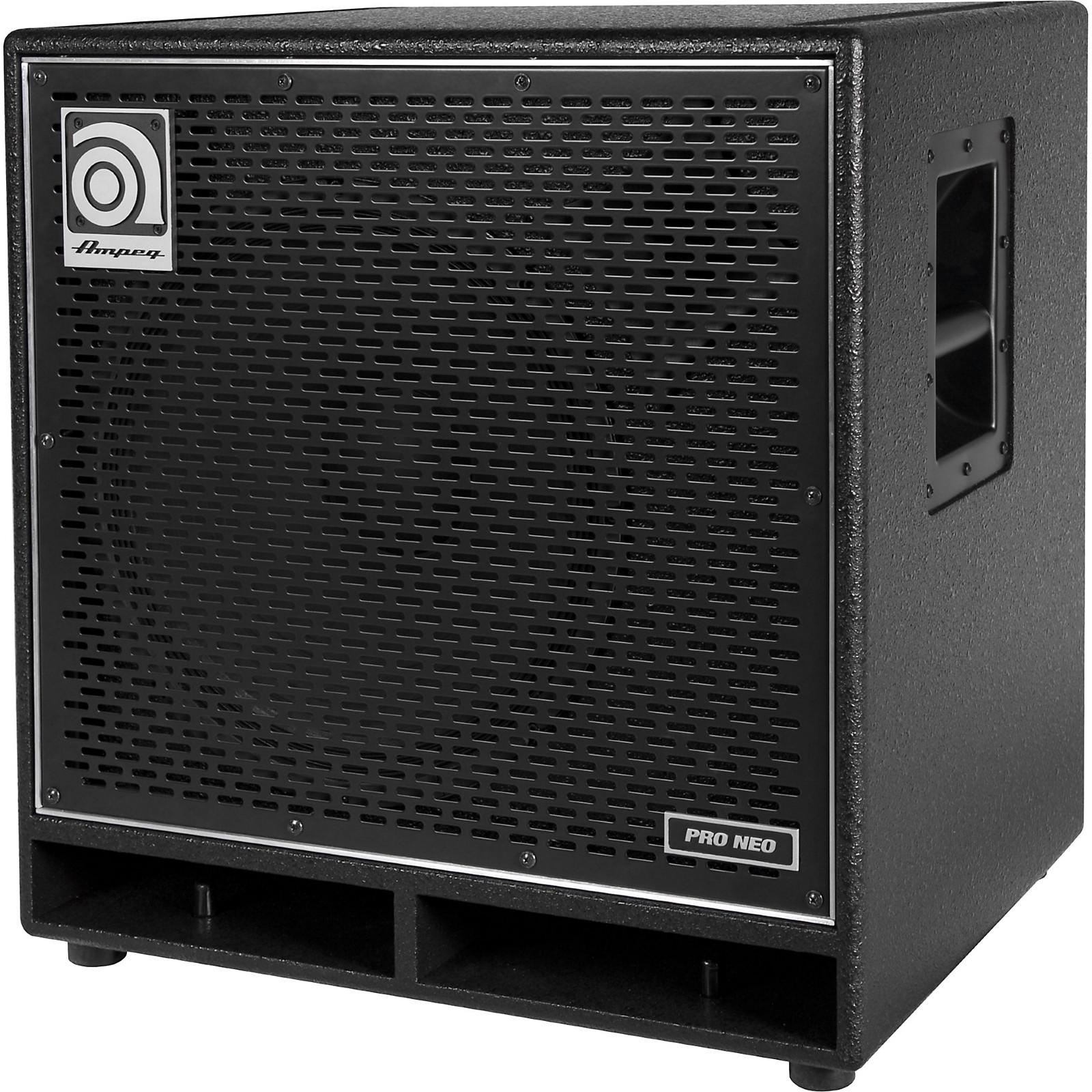Open Box Ampeg Pro Neo Series PN-115HLF 575W 1x15 Bass Speaker Cabinet