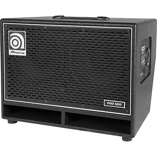 Open Box Ampeg Pro Neo Series PN-210HLF 550W 2x10 Bass Speaker Cabinet