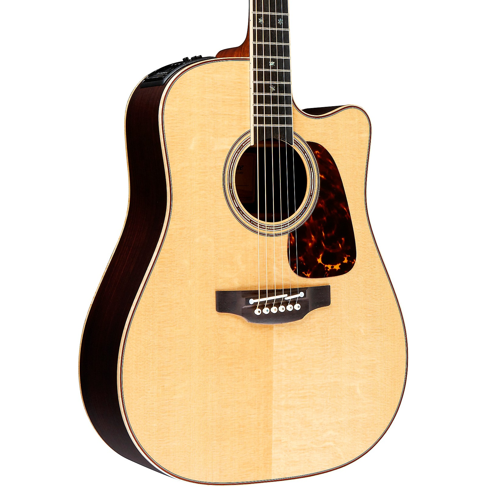 Open Box Takamine Pro Series 7 Dreadnought Cutaway Acoustic-Electric Guitar