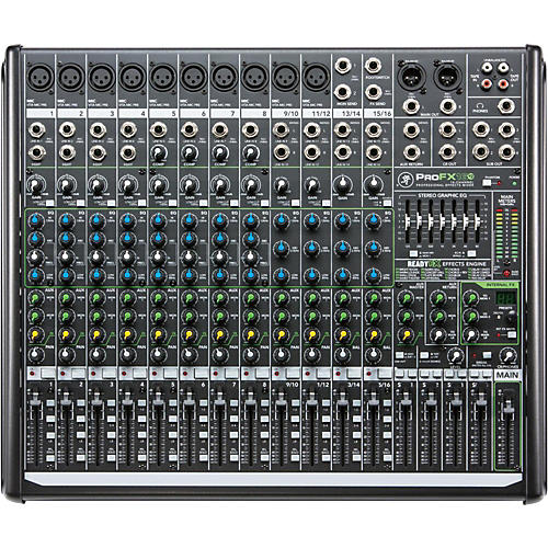 Open Box Mackie ProFX16v2 16-Channel 4-Bus FX Mixer with USB