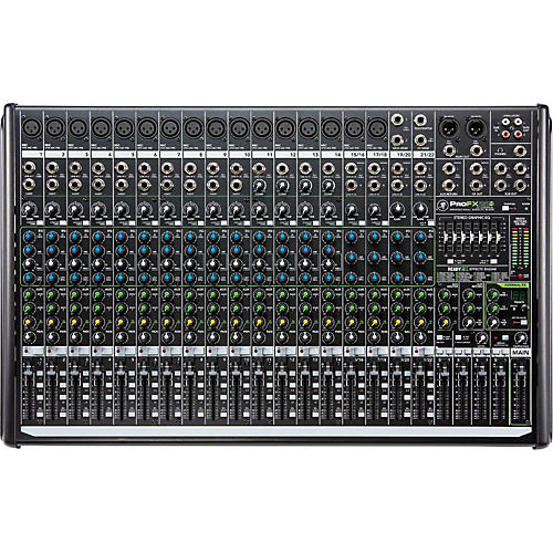 Open Box Mackie ProFX22v2 22-Channel 4-Bus FX Mixer with USB