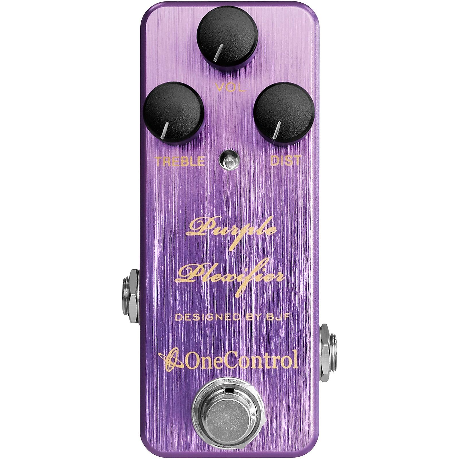 Open Box One Control Purple Plexifier Distortion Effects Pedal