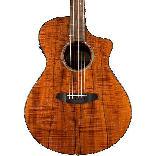 Open Box Breedlove Pursuit Concert Koa Acoustic-Electric Guitar