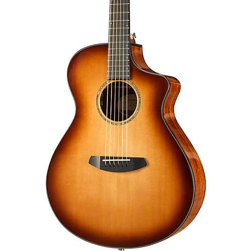 Open Box Breedlove Pursuit Concert Sitka-Koa Acoustic-Electric Guitar With Gig Bag