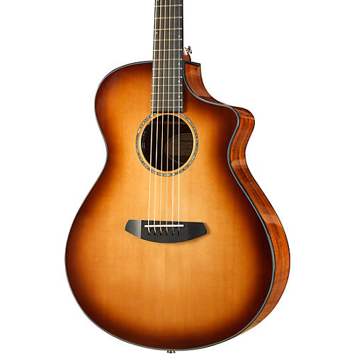 Open Box Breedlove Pursuit Concert Sitka-Koa Acoustic-Electric Guitar With Gig Bag