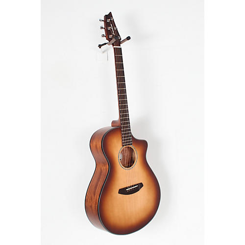 Open Box Breedlove Pursuit Concert Sitka-Mahogany Acoustic-Electric Guitar With Gig Bag