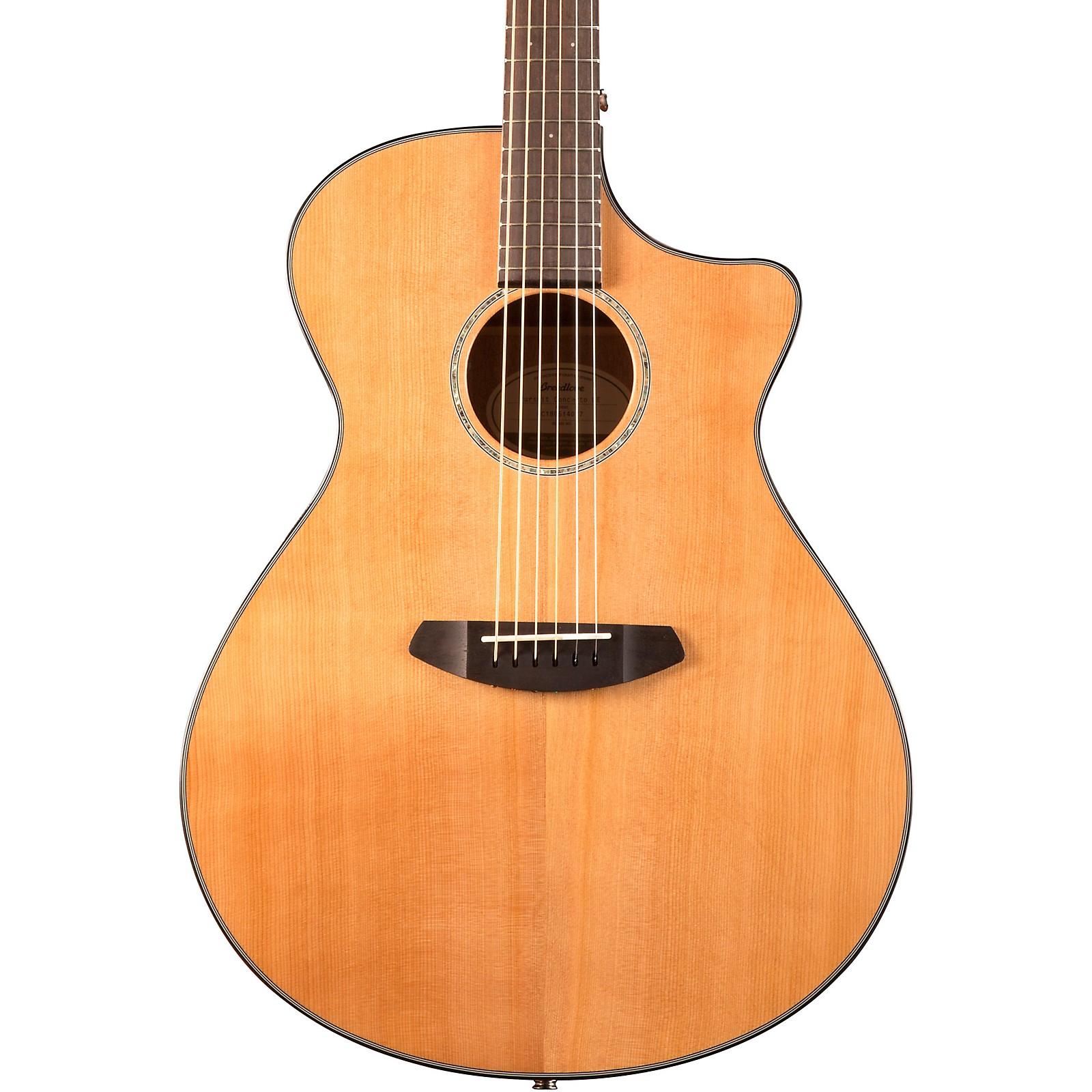 Open Box Breedlove Pursuit Concerto Red Cedar - Mahogany Acoustic-Electic Guitar
