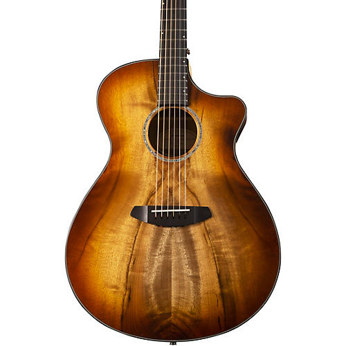 Open Box Breedlove Pursuit Exotic Concerto CE Myrtlewood-Myrtlewood Acoustic-Electric Guitar