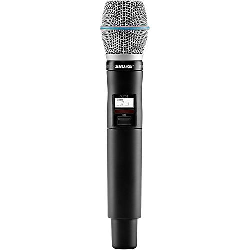 Open Box Shure QLXD2/BETA87C Handheld Wireless Microphone Transmitter