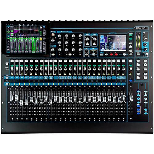 Open Box Allen & Heath QU-24 Chrome Edition Digital Mixer
