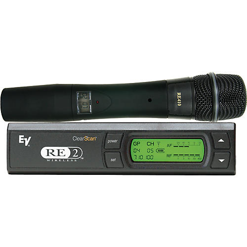 Open Box Electro-Voice RE2-410 Wireless System with RE410 Handheld Microphone