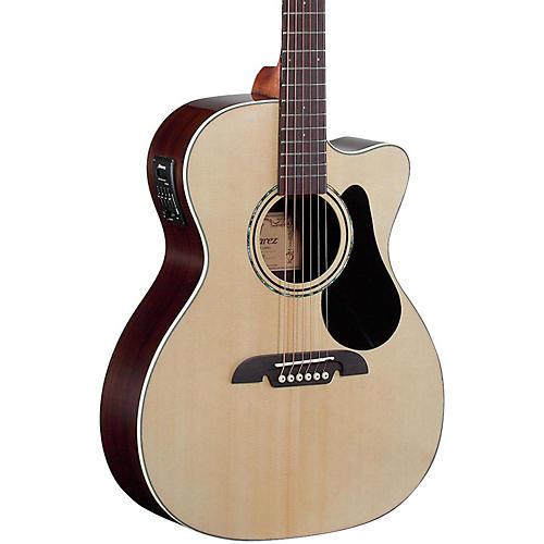 Open Box Alvarez RF27CE OM/Folk Acoustic-Electric Guitar