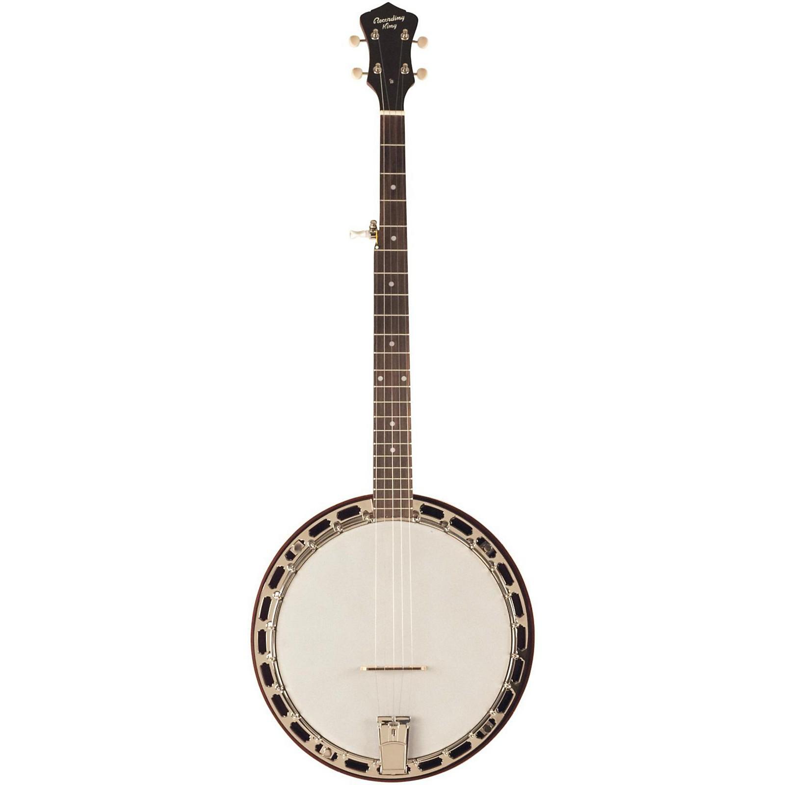 Open Box Recording King RKH-05 Dirty 30's Resonator Banjo