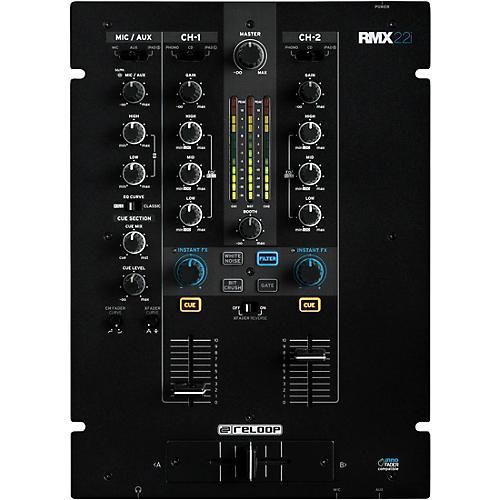 Open Box Reloop RMX-22I 2-Channel MIDI Mixer