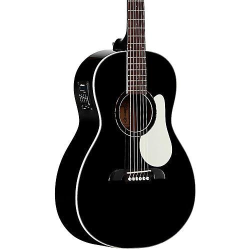 Open Box Alvarez RP266EBK Parlor Acoustic-Electric Guitar