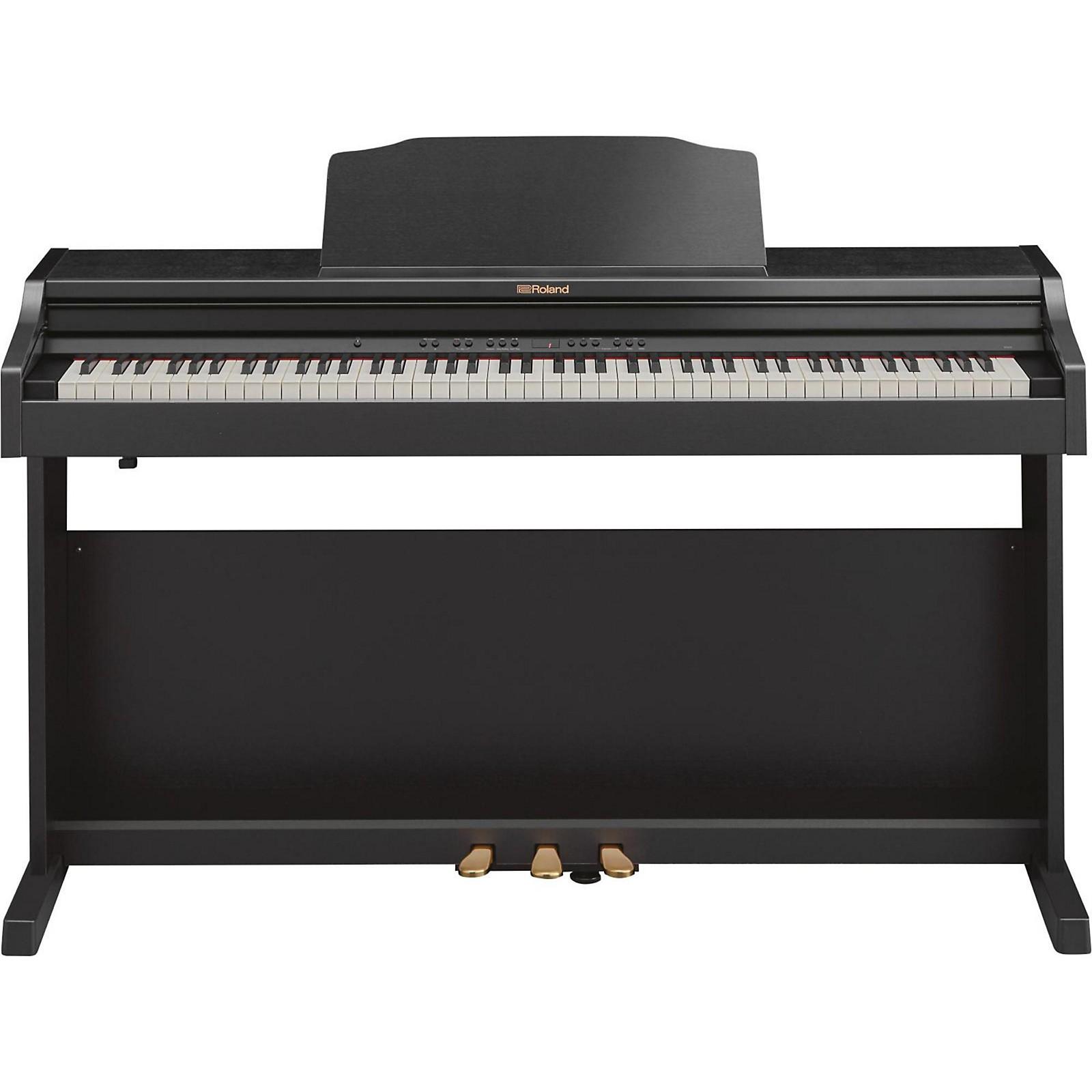 Open Box Roland RP501R Digital Home Piano Contemporary Black