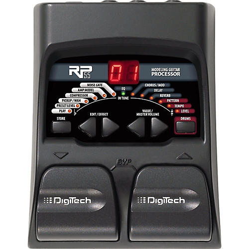 Open Box DigiTech RP55 Guitar Multi-Effects Pedal
