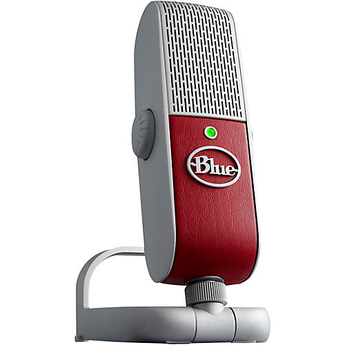 Open Box BLUE Raspberry Studio USB/iOS Microphone - with $200 in Software
