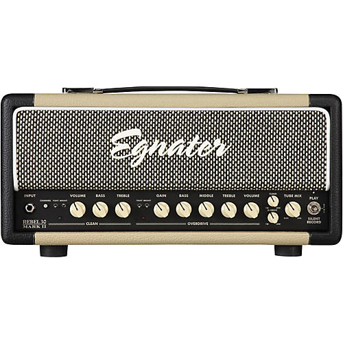Open Box Egnater Rebel-30 Mark II 30W Guitar Tube Head