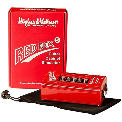 Open Box Hughes & Kettner Red Box 5 Classic DI and Amp Simulator