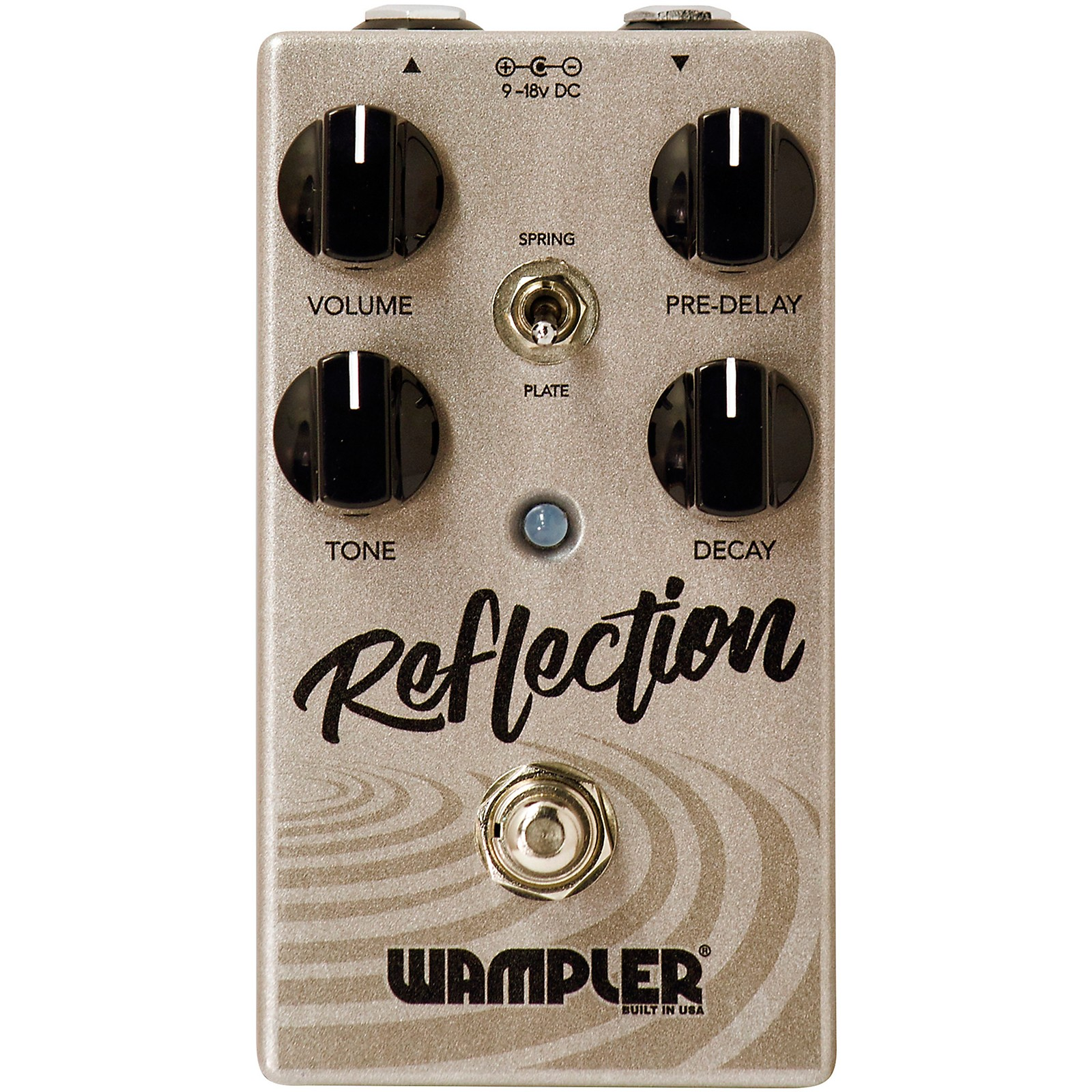 Open Box Wampler Reflection Reverb Effects Pedal